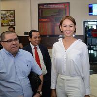 Kalina Oktarani dan Rasman Arif Nasution