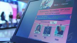 Acara bertema 'Mom and Career' itu membahas kiat sukses menjalani hidup sebagai wanita karir dan juga ibu rumah tangga, Jakarta, Rabu (19/11/2014). (Liputan6.com/Herman Zakharia)