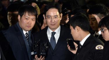 Bos Samsung Terjerat Skandal Suap- Lee Jae-yong- AFP PHOTO-20170217