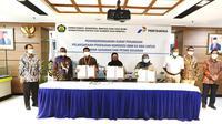 Pertamina siap menindaklanjuti penugasan Pemerintah untuk mendistribusikan 35.000 paket Konverter Kit (Konkit) untuk nelayan dan petani.