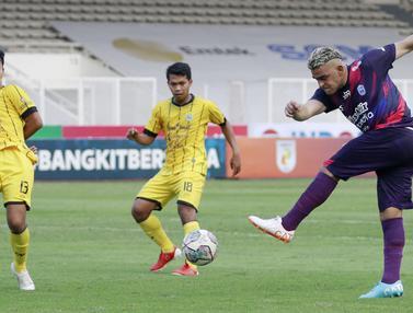 Foto: Derbi Banten Berakhir Imbang, Klub Raffi Ahmad Gagal Taklukan Perserang Serang di Liga 2