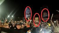 Tangkapan layar video viral geng motor acung-acungkan senjata tajam di Serang, Banten. (Foto: Liputan6.com/Istimewa)