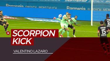Berita video highlights Bundesliga, Bayern Leverkusen kalahkan Borussia Moenchengladbach 4-3. Ada gol kalajengking dari Valentino Lazaro