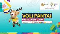 Voli Pantai Asian Games 2018 (Bola.com/Adreanus Titus)