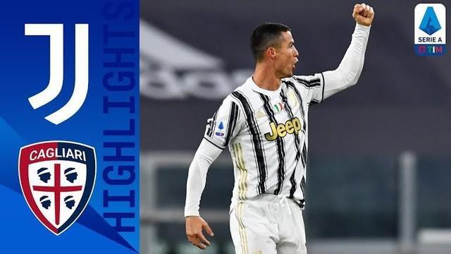 Berita vide, Juventus raih kemenangan atas Cagliari di Liga Italia pekan 8 berkat dua gol Cristiano Ronaldo