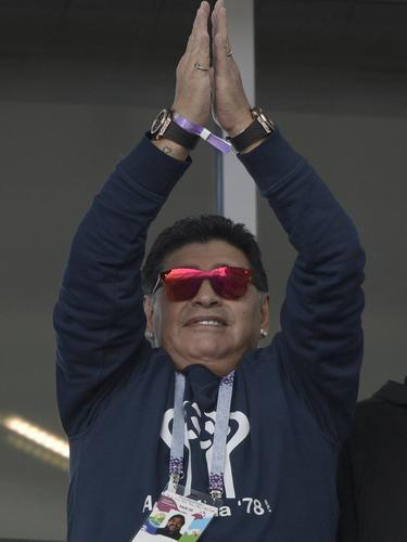 Diego Maradona, Argentina, Piala Dunia 2018