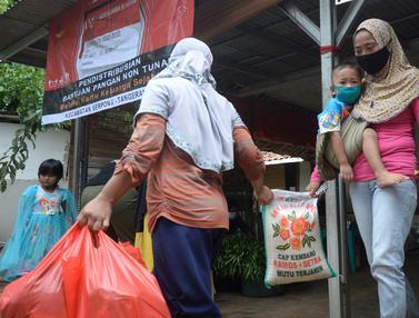 95 Orang Dapat Bantuan Non Tunai Kemensos di Tangsel