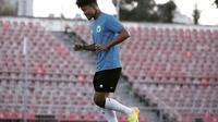 Bagus Kahfi mengikuti latihan bersama Timnas Indonesia U-23. (Instagram Bagus Kahfi).