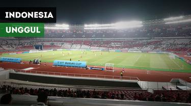 Berita video vlog suasana tribun Stadion Gelora Bung Karno saat gol penalti Stefano Lilipaly membuat Indonesia unggul 2-1 atas Timor Leste di Piala AFF 2018, Selasa (13/11/2018)