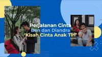 Kisah Perjalanan Cinta Ben dan Diandra dalam Sinetron Kisah Cinta Anak Tiri. sumberfoto: SCTV