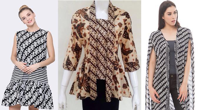 3 Inspirasi Batik Style Untuk Pria Wanita Fashion Beauty
