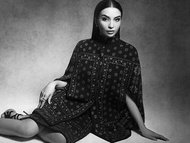 Walaupun kini sosoknya jarang tampil di layar kaca, Manohara Odelia Pinot masih aktif membagikan kegiatannya di media sosial. Ia masih sering didapuk menjadi model di sejumlah pemotretan. (Liputan6.com/IG/@manodelia)