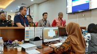 Tim Hukum PDIP mendatangi Kantor Bareskrim Polri di Jakarta Selatan, Jumat (17/1/2020). Kedatangannya untuk konsultasi terkait pemberitaan yang menyudutkan PDIP. (Ady Anugrahadi/Liputan6.com)