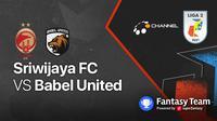 Liga 2 2021 : Sriwijaya FC vs Babel United
