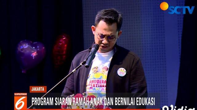 Dari tujuh kategori, stasiun televisi kesayangan anda SCTV berhasil masuk dalam dua nominasi, yaitu kategori program animasi Indonesia dengan karya lorong waktu, dan program variety show Indonesia pintar.