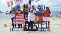 BPJSTK Belitong Geopark International Stand Up Paddle (dayung berdiri) and Kayak Marathon 2019 (ist)