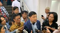 Kuasa hukum Sofjan Jacoeb, Ahmad Yani di Mapolda Metro Jaya. (Merdeka.com)