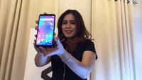 Peluncuran smartphone Advan terbaru, G2 Pro di Jakarta. (Liputan6.com/Agustinus M.Damar)