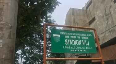 Stadion VIJ merupakan stadion pertama Persija yang berlokasi di Petojo
