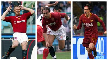 AS Roma telah dipastikan akan ditukangi Jose Mourinho mulai musim depan. Menarik untuk ditunggu apakah rekor pemain termahal di AS Roma akan dipecahkan oleh pemain rekrutan The Special One. Berikut daftar pemain termahal AS Roma sebelum kedatangan Jose Mourinho. (Kolase Foto AFP)