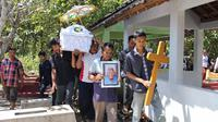 Mbah Gotho dimakamkan satu cungkup dengan putrinya (Liputan6.com / Fajar Abrori)