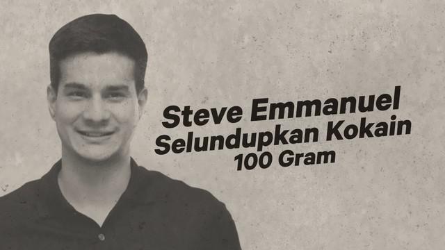 Steve Emmanuel ditangkap jajaran Polres Jakarta Barat karena kepemilikan narkoba.