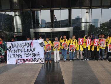 Mahasiswa Gelar Aksi di Protes Revisi UU KPK