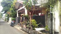 Hujan misterius mengguyur sebuah rumah di Tebet, Jakarta Selatan. (Liputan6.com/Reski Apriliya Iskandar)