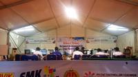 LKS SMK ke-27 tingkat nasional yang digelar pada 7 sampai 13 Juli 2019 di JEC Yogyakarta. (Liputan6.com/ Switzy Sabandar)