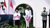 Presiden Joko Widodo meresmikan Bandara Internasional Yogyakarta yang terletak di Kabupaten Kulon Progo. (Muchlis Jr/Biro Pers Sekretariat Presiden)