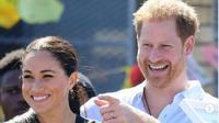 Meghan Markle bersama Pangeran Harry. (dok.Instagram @meghanmarkle_official/https://www.instagram.com/p/B3Pt2CfIRu2/Henry)