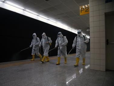 Kasus COVID-19 Bertambah, Turki Semprot Disinfektan di Stasiun Kereta Bawah Tanah