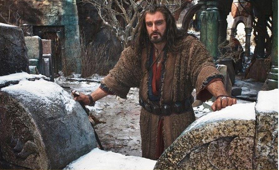 Richard Armitage sebagai Thorin dalam The Hobbit. (theonering.org)