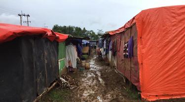Suasana pengungsian