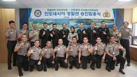 Sebanyak 20 Perwira Polri sedang mengikuti pendidikan pascasarjana di Korean National Police University (KNPU), Asan, Korea Selatan. (KBRI Seoul)