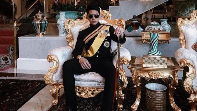 Pangeran Mateen, Putra Sultan Brunei Darussalam (instagram: tmski)