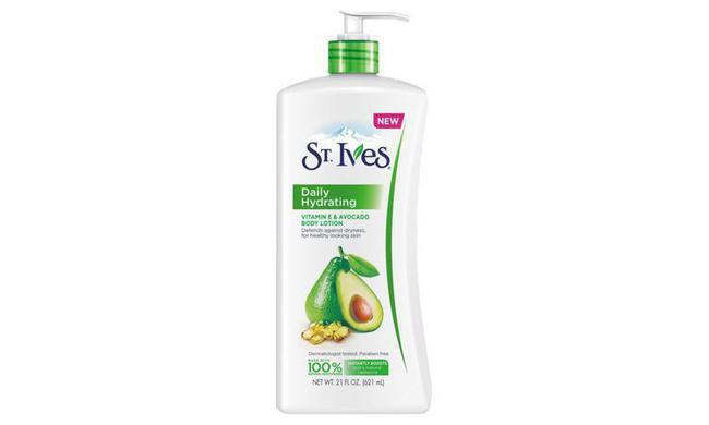St. Ives Daily Hydrating Vitamin E & Avocado/copyright sociolla.com