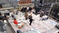 The Beatles tampil di rooftop Apple Corps. (Liputan6/Thebeatles.com)