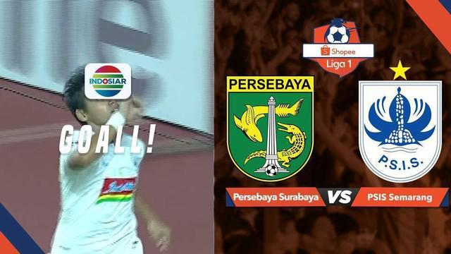 Berita video gelandang PSIS Semarang, Septian David Maulana, mencetak gol ke gawang Persebaya Surabaya dan mengubah skor menjadi imbang 1-1 dalam lanjutan Shopee Liga 1 2019, Kamis (30/1/2019).