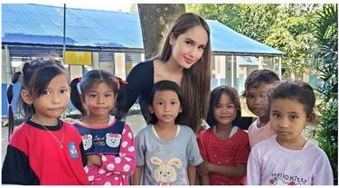 7 Potret Sekolah yang Dibangun Cinta Laura, Terletak di Pedalaman Gunung Salak