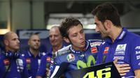 Pembalap Yamaha Valentino Rossi (Reuters)