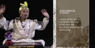 Inzodius (Ini Zodiak Bareng Uus) - Ramalan Keuangan Aquarius