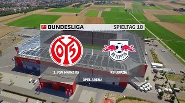 Berita video highlights RB Leipzig takluk dari tim yang terancam degradasi dari Bundesliga, Mainz 05, Sabtu (23/1/2021) malam hari WIB.