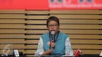 Pelaksana Harian Kepala Biro Humas KPK Yuyuk Andriati. (Liputan6.com/Helmi Afandi)