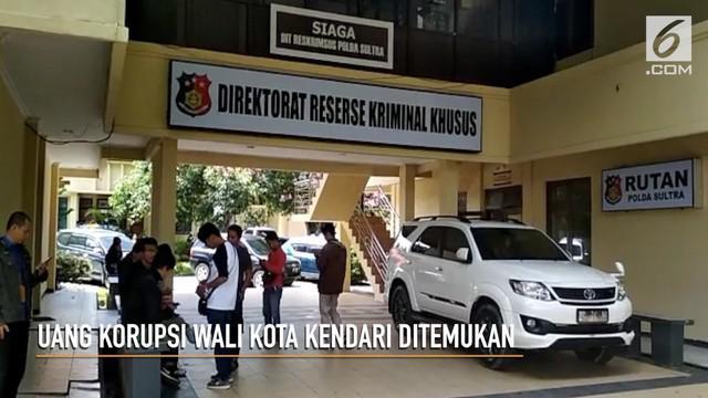KPK akhirnya temukan uang korupsi Wali Kota Kendari, Adriatma Dwi Putra.