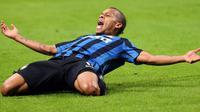 5. Jonathan Biabiany (Inter Milan), gelandang sayap kanan asal Prancis ini memiliki kecepatan lari 20 dari nilai maksimal 20 dan akselerasi 19. (EPA/Matteo Bazzi)