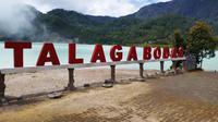 Kawasan wisata alam Talaga Bodas Garut, menjadi potensi baru spot wisata migrasi elang di pulang Jawa (Liputan6.com/Jayadi Supriadin)