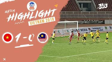 Berita video Malaysia kalah dari vietnam setelah gol langsung dari sepak pojok yang dicetak Vo Minh Trong di Grup B Piala AFF U-18 2019, Rabu (7/8/2019).