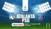 ATALANTA VS PSG (Liputan6.com/Abdillah)