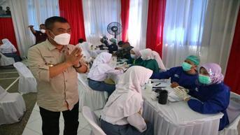 Capaian Vaksin Covid-19 Kota Cirebon 68 Persen, Wali Kota Azis Minta Tambah Pasokan